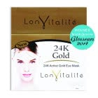 Lonvitalite 24K Gold Active Gold Full Eye Mask Set