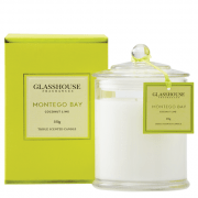 Glasshouse Montego Bay Candle - Coconut Lime 350g