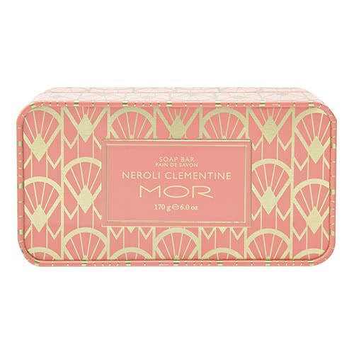 MOR Neroli Clementine Soap in Tin
