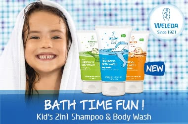 Weleda Kids 2in1 Shampoo and Body Wash