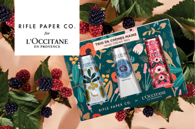 L'Occitane Limited Edition Rifle Paper and Co Collaboration