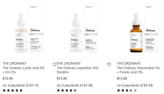 The ordinary skincare regimen guide