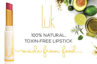 Luk Lipstick with avocado oil